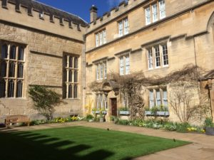 Jesus College Building, Oxford